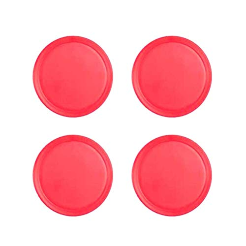 YeahiBaby 4 Pezzi Air Hockey Pushers Pucks Sostituzione per tavoli da Gioco Goalies Header Kit Air Hockey Attrezzature Accessori