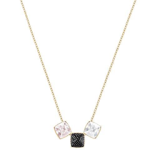Swarovski Glance Halskette, klein, mehrfarbig, rosé Vergoldung - Heritage Produkte Rose