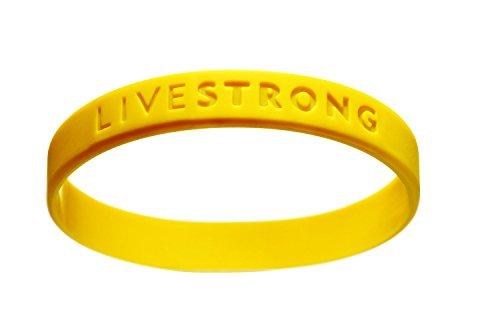 XXL Original Livestrong Armband incl. 1$ Lance Armstrong Krebshilfe XXL Größe 230 mm - Silikon-armband-nike