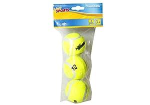 New Sports 63069B  - Pelotas de tenis (3 unidades) Importado de Alemania