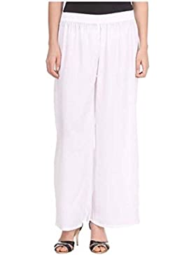 Sizzlacious Regular Fit Women's White Trousers