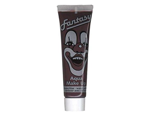 Tube de maquillage 15 ml - Fond de teint à l'eau Visage MARRON