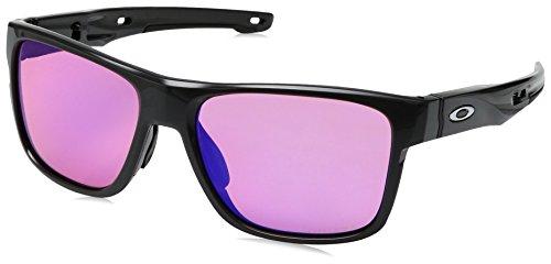 Oakley Herren Crossrange Sonnenbrille, Grau (Gris), 57