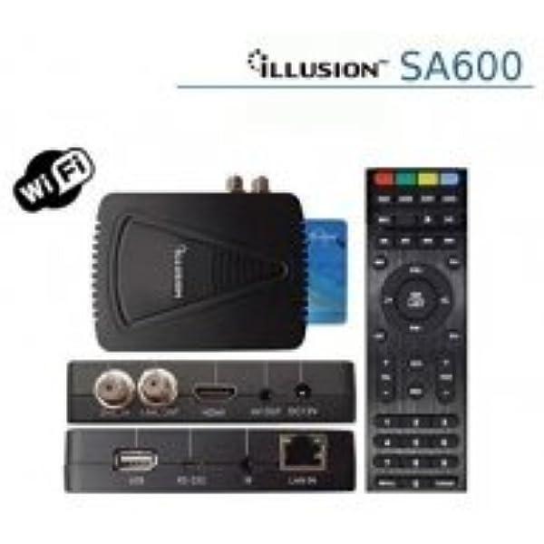 Illusion - Sa600 con conexión ethernet y WiFi, Alta definición ...