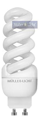 Müller Licht Mini-Spiral-ESL, GU10, 11W