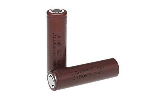 LG Chem 18650HG2 Akku 3000mAh, 3,6V Format LiNiMnCoO2/20A (2er Pack)
