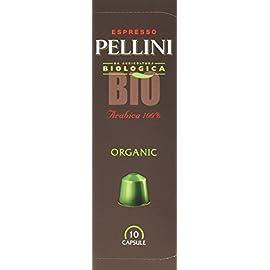 Pellini Coffee Organic Bio Nespresso Compatible Capsules (Pack of 2, Total 20)