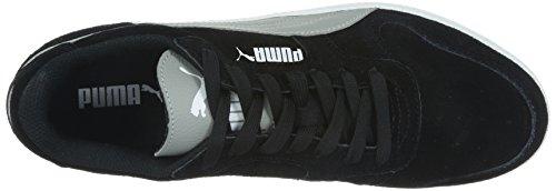 Puma Unisex-Erwachsene Icra Trainer Sd Low-Top Schwarz (black-limestone gray 03)