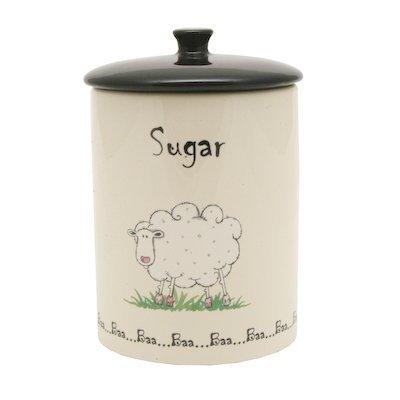 Price and Kensington Home Farm Sugar Jar, Ceramic, Multi-Colour,