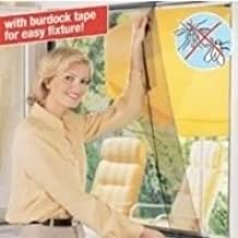 Flyscreen Queen Window Kit easy Fit 220 x 65cm Charcoal