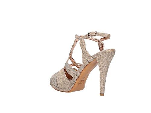 Albano 1237 Sandalo Elegante Donna Platino