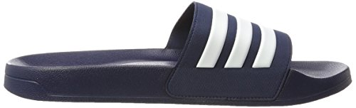 adidas CF Adilette, Scarpe da Spiaggia e Piscina Uomo Blu (Collegiate Navy/footwear White/collegiate Navy 0)