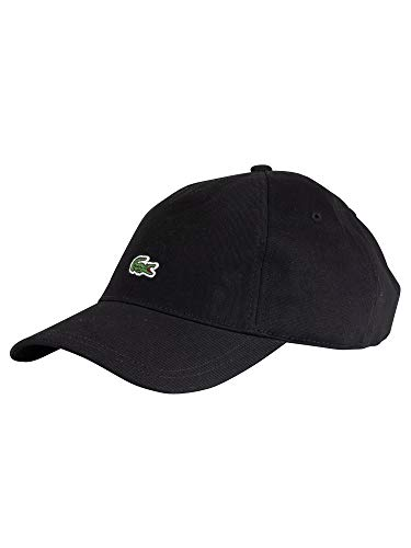 Lacoste RK4863 Herren Baseball Cap,Männer Schirmmütze,Baseball Mütze,Kappe,Black(031),One Size (TU)