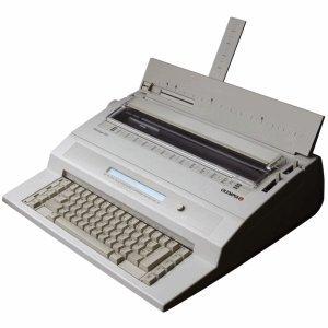 Olympia Schreibmaschine elektrisch Startype
