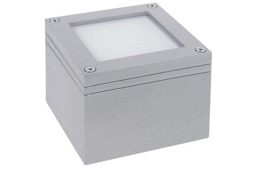 Paulmann 99488 Spec. ABL Set Wand/Boden LED 1W 230V 100 mm Titan/Alu Zink
