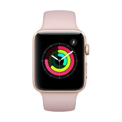 Apple Smartwatch 42 mm goldfarben Aluminium