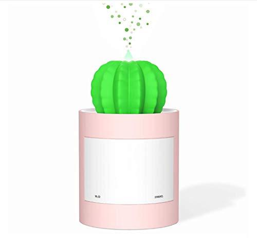 AMhuui Mini Size Cactus Humidifier, Ultraschall-Befeuchter für