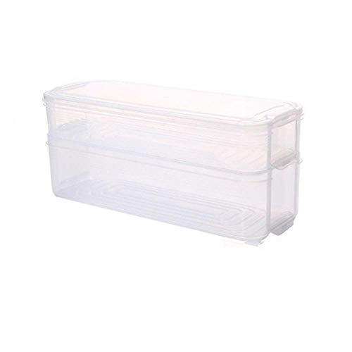 wxrsxx Aufbewahrungsbox Kunststoff Lagerplätze Kühlschrank Aufbewahrungsbox Frischhaltedose Mit Deckel Für Küchenschrank Gefrierschrank Schreibtisch Veranstalter