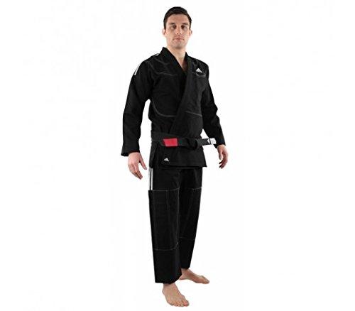 Adidas challenge 2.0bjj/brazilian jiu jitsu/gi/kimono/vestito/scelta di colori/dimensioni selezione, nero