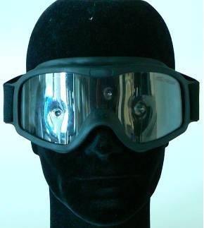 Schußsichere Schutzbrille 614M - Beschlagfreie Doppelscheibe mit militärisch ballistischer schußhemmender Ausrüstung - Hochleistungs-Vollsichtbrille für Polizei und deren Spezialeinheiten sowie Anwender mit höchsten Augenschutz-Anforderungen -