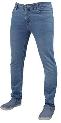 """Herren G72 Denim SUPER Stretch Skinny Slim FIT Jeans ALLE Taille UND Bein GRÖßEN,Steinwäsche,42"""",30L"""