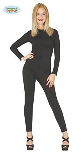 Ganzkörperanzug für Damen in schwarz Gr. M/L , (Ganzkörperanzug Schwarz)
