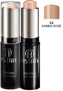 ASTRA fondotinta stick SKINSTICK gr10 n.32 sabbia rosè