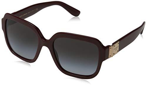 Ray-Ban Damen 0DG4336 Sonnenbrille, Mehrfarbig (Bordeaux), 56