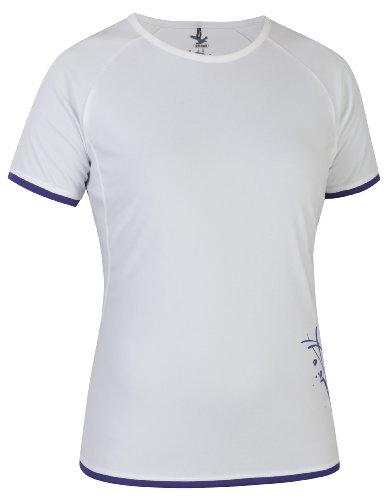 Salewa Sirene Dry T-shirt Femme Blanc/6960