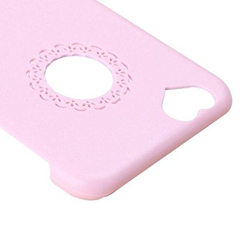 Wkae Case & Cover 0.7mm matériaux ultra - mince protection de polycarbonate pour iphone 6 pc plus &6s et ( Color : Blue ) Pink