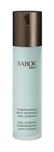 BABOR MEN Anti Wrinkle Face & Eye Energizer, schnell einziehende Gel-Creme für Gesicht und Augenpartie, vitalere Haut, zur täglichen Anwendung, 50ml