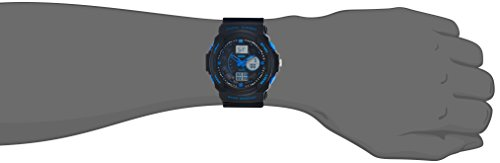 SKMEI Analog-Digital Multi-Colour Dial Men's Watch-AD0955 (BK BLUE)