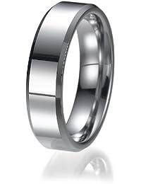 6mm Passform unisex Wolfram Ehering Ring