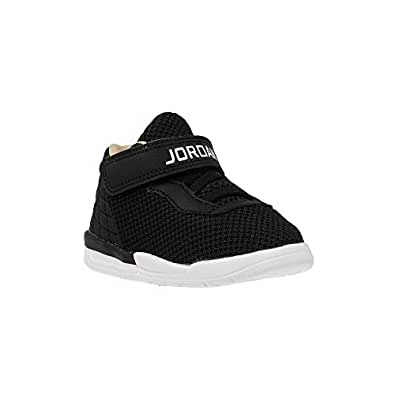 Nike 844706 Academy Chaussures Avec Bébé Logo En Jordan Tissu Noir MVSUpz