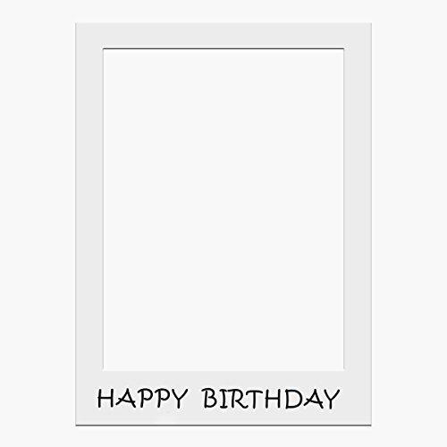 Requisiten Fotokabine nur Fassung von Trimming Shop - Multi, Happy Birthday (Happy Halloween Foto-karten)