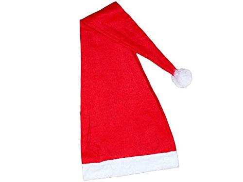 Preisvergleich Produktbild Extra Lange Weihnachtsmuetze Weihnachtsmütze Nikolausmütze ein Meter lang nr 06