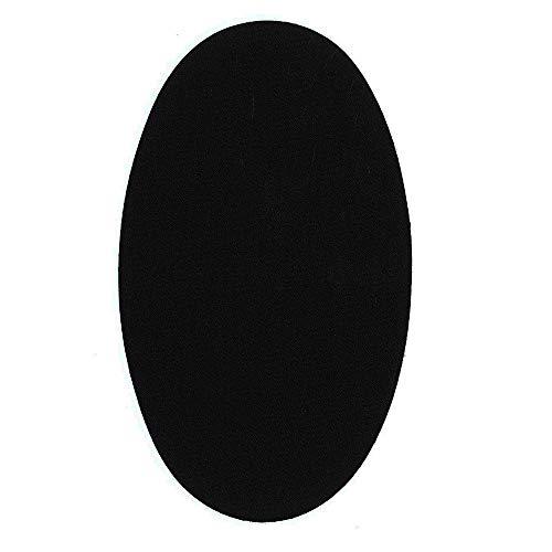 1 par rodilleras color Negro termoadhesivas plancha