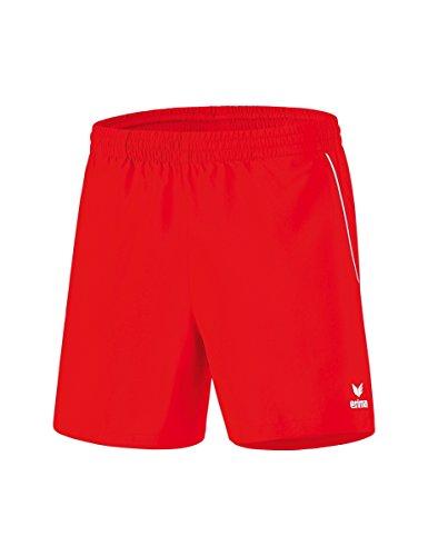Erima Kinder Tischtennis Shorts, rot/Weiß, 140