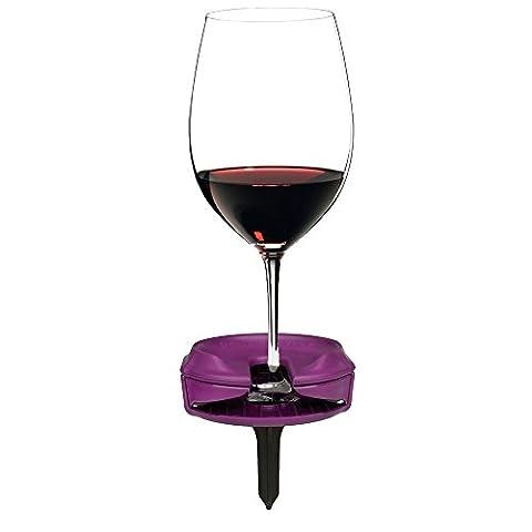 Bella D'Vine Outdoor Wine Glass Holder for Stemless & Stemmed