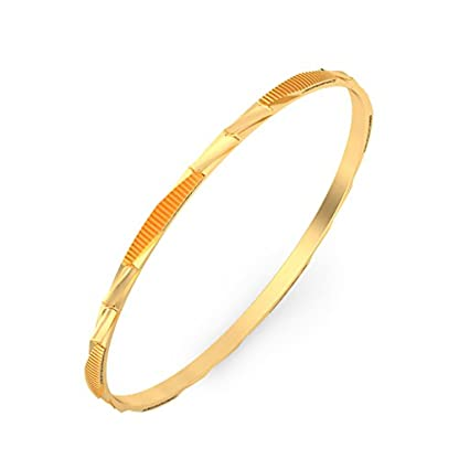 BlueStone 18k (750) Yellow Gold Dasia Bangle
