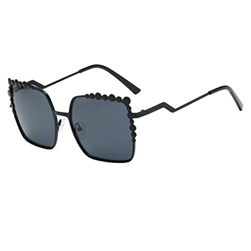 D DOLITY Hochwertige Sonnenbrille im Retro Stil Vintage UV400 Schutz Damenbrille 7 Farben Gläser...