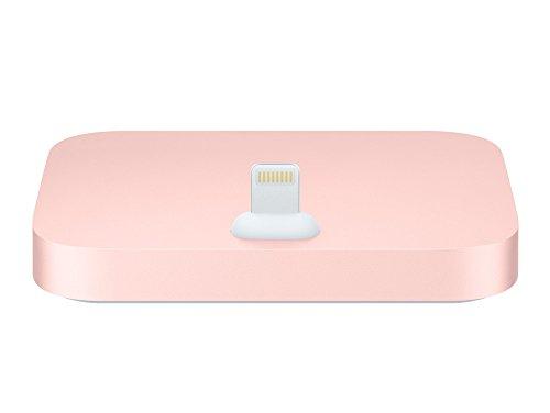 Apple ML8L2ZM/A Lightning Dockingstation für iPhone X 8 7 6S 6 5S 5C 5 und alle Plus, Rose Gold (Ipod 5 Dock Pink)