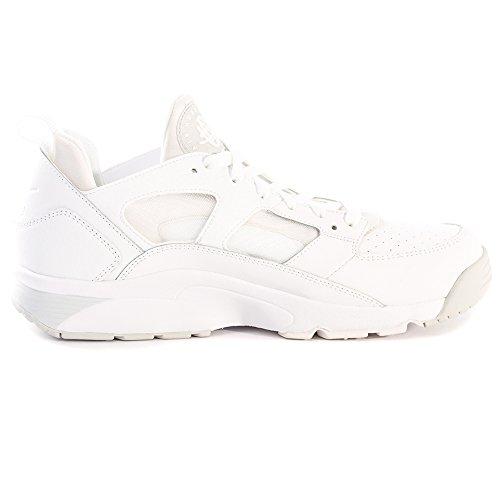 Nike Air Tr Huarache Low 749447-110 Schuhe Weiß / Silberfarben (White / White-Pure Platinum)