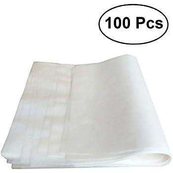 14x14 cm - 500 St/ück Wiederverwendbare Spenderbox - zum Backen ZEZAZU Pergament Backpapier Quadratische Bl/ätter Silikonbeschichtet Hamburger Praktische Vorgeschnitten