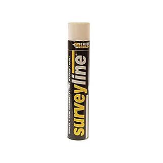Everbuild SURVEYWH Surveyline Marker Spray 700 ml - White