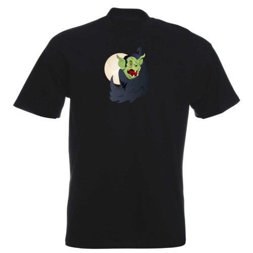 T-Shirt - Drakula 06 - Halloween - Vampir - Herren - unisex Schwarz