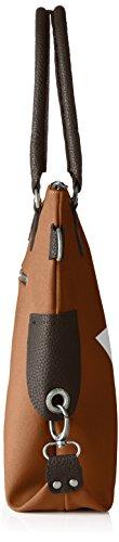 Bags4Less - Stern-mini, Borsa a tracolla Donna Braun (Velours-Camelbraun)