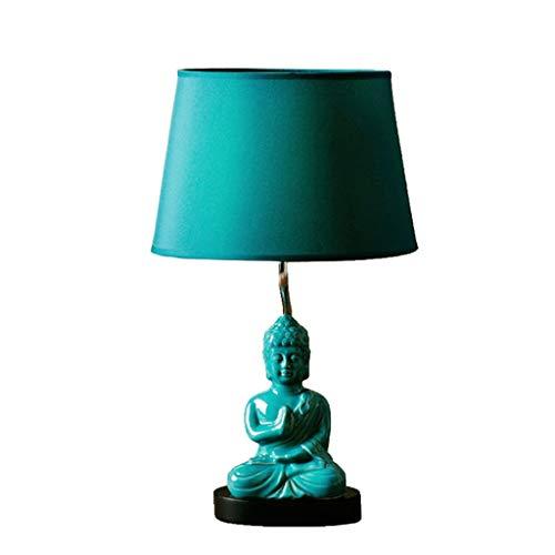 Yike-Lamp Buddha Statue Warm Light Ikea Lampada da Tavolo Camera da Letto Comodino Creativo Minimalista Moderno Moda retrò