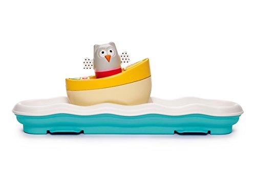 Taf Toys 11805 Fahrenden aktivitätsspielzeug Boot mit schlummerlicht und musik