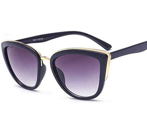 WYJW Für Damen \u0026 Damen 50er Jahre Cool Cat Style Black Frames Sonnenschutz vor Sonnenbrillen 100% UV-Schutz